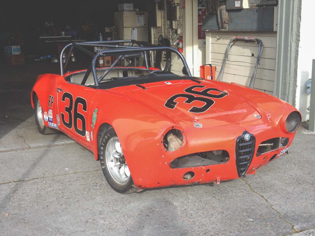 Original Alfa Race Car