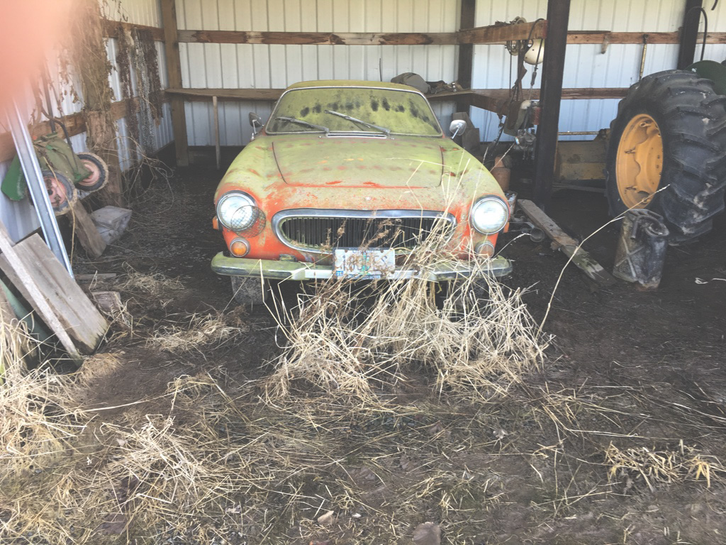 Volvo Barn Find